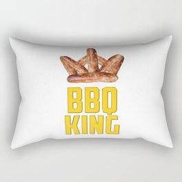 BBQ King Rectangular Pillow