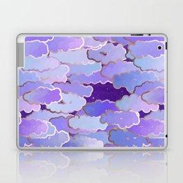 Japanese Clouds, Twilight, Violet and Deep Purple Laptop & iPad Skin
