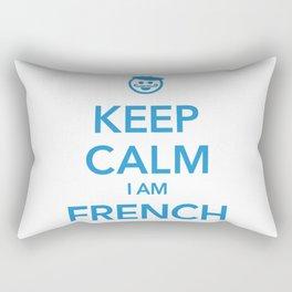 KEEP CALM I AM FRENCH Rectangular Pillow