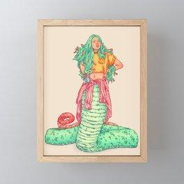 Medusa Framed Mini Art Print