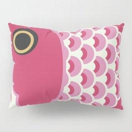 Koinobori   Pink Pillow Sham