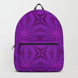 Purple Haze Flowers Backpack