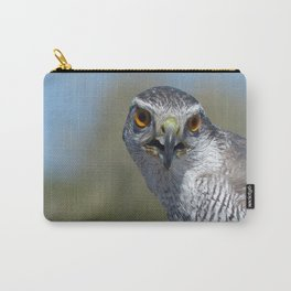 Northern Goshawk Close Carry-All Pouch