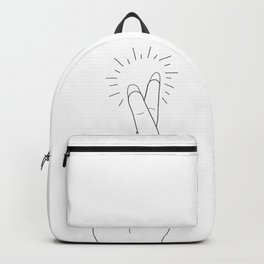 Fingers Crossed Backpack