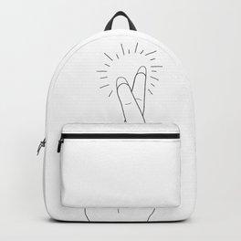 Fingers Crossed Backpack