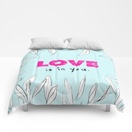 Love is in You Comforters