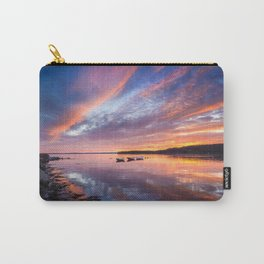 Sunset in French Village, Nova Scotia Carry-All Pouch