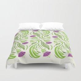Thistles - Color PAttern Duvet Cover