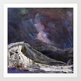 Northern Mountain Art Print