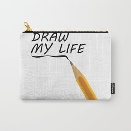 Draw my life Carry-All Pouch