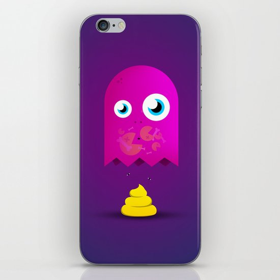 Game Over Pac. iPhone & iPod Skin