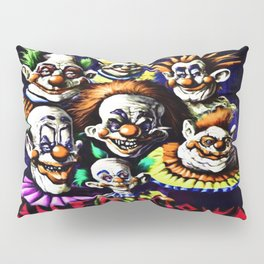 Clowns From Space Pillow Sham