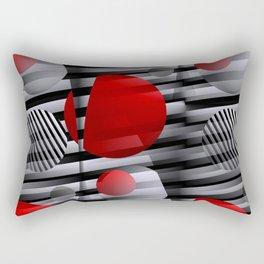 3D - abstraction -38- Rectangular Pillow