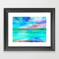 Ocean at Sunrise Framed Art Print