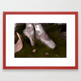 Muddy Ballet Framed Art Print