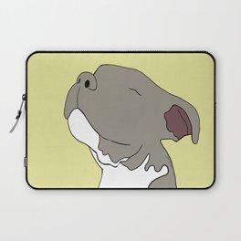 Sunny The Pitbull Puppy Laptop Sleeve