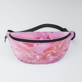 Pink Blush Peony Fanny Pack