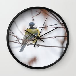 May the Force be with you. Tit Vader Wall Clock