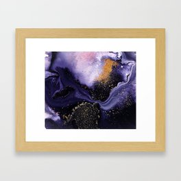 Flow I Abstract Framed Art Print