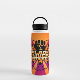BLM-Silence is Violence Water Bottle