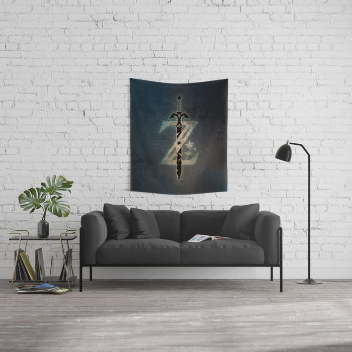 A Warrior symbol Wall Tapestry