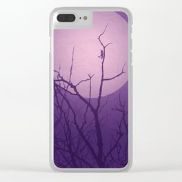 Grasshopper Moon Clear iPhone Case