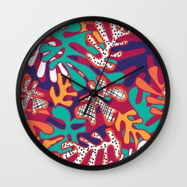 Matisse Pattern 009 Wall Clock