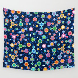 Hydrocarbons in Space Wall Tapestry