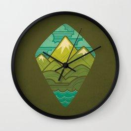 Sea to Sky Wall Clock