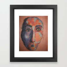 Camel Man Framed Art Print