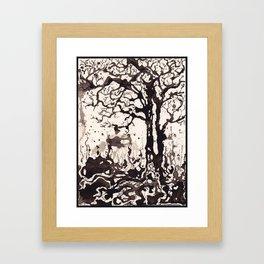 Solum IV /// Tree Studies Framed Art Print