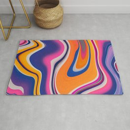 Marble Marbled Abstract Trendy CLIII Rug