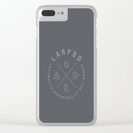 LARPBO Hipster Clear iPhone Case