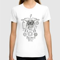 motorcycle T-shirts featuring Motorcycle by ElaBaer