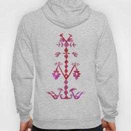 Ethnic Kilim Pattern Tree of Life Hoody