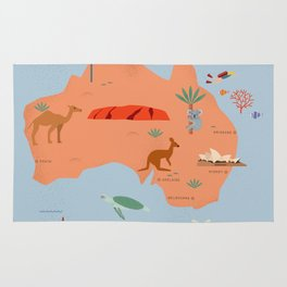 Australien Rug