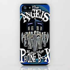 The Angels Have The Phonebox! | Dr. Who iPhone (5, 5s) Slim Case