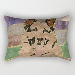 German Shepherd Dog - GSD Rectangular Pillow
