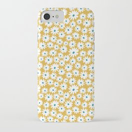 Daisies - Spring - Yellow iPhone Case