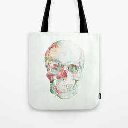 Skull Bouquet Tote Bag
