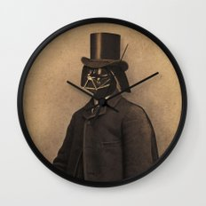 Lord Vadersworth Wall Clock