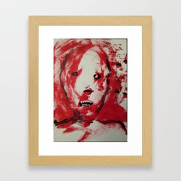"THE AESTHETICS OF UNDEATH"" #28 ,   Framed Art Print"