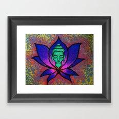 Namaste. Framed Art Print