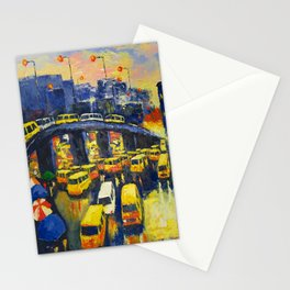 A Section Of The Busy Lagos Metropolis Stationery Cards