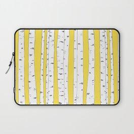 Aspen Forest - Yellow Laptop Sleeve