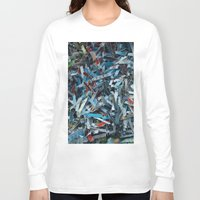 confetti Long Sleeve T-shirts featuring Confetti by Adam Klimovic
