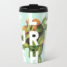 Flourish #society6 #buyart #typography #artprint Travel Mug