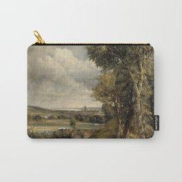 Vintage landscape Constable paintig Carry-All Pouch