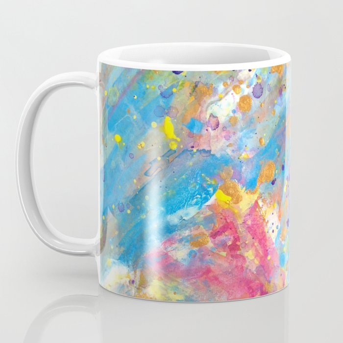 Orange Llama in Pink Tutu Coffee Mug