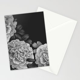 Flowers in the night Stationery Cards